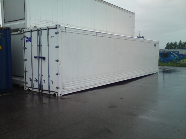 40 fods isoleret container